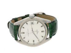 "Armbanduhr: vintage Eterna-Matic ""Kontiki 20"" in Stahl, 60er-Jahre"
