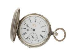 Taschenuhr: silberne Savonnette für den chinesischen Markt, ca. 1840