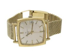 Armbanduhr: seltene, automatische vintage Herrenuhr in Gold, Eterna-Matic 3000