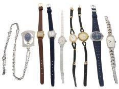 Armbanduhr: Konvolut vintage Damenuhren, überwiegend 70er- und 80er-Jahre