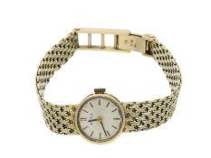 """Armbanduhr: goldene vintage Armbanduhr der Marke """"Roamer"""" 14K Gold"""