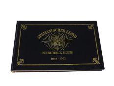 Nautik: Nautiquität, seltene gesuchte Ausgabe Germanischer Lloyd, internationales Register 1867-