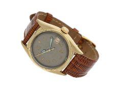 .Armbanduhr: gesuchte, große Rolex Oyster Perpetual Datejust, Chronometer Bubble Back REF. 6105