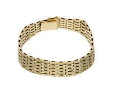 Armband: schönes goldenes vintage Armband, 14K Gold