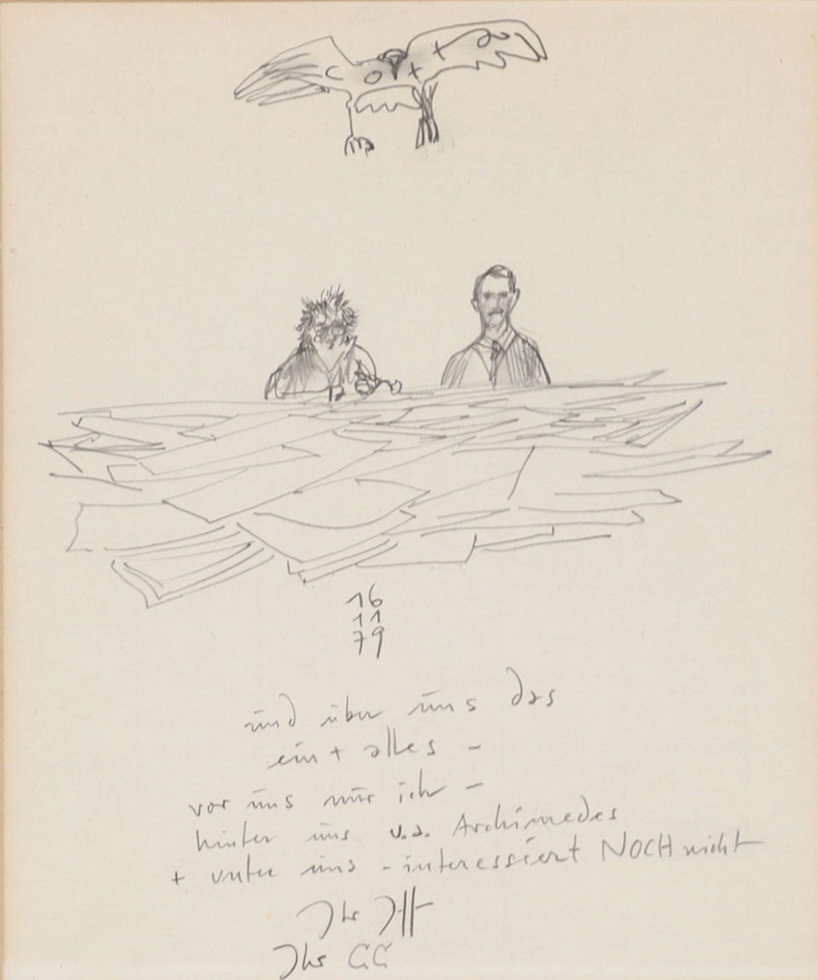 zurückgezogen / withdrawn Horst Janssen