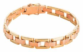 Bicolores Vintage Goldarmband