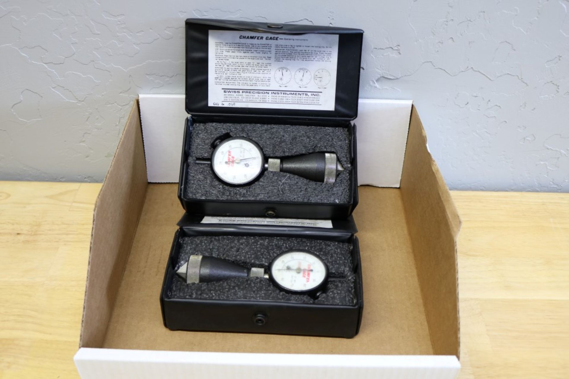 Lot 41 - (2) Chamfer Gages 0-90 Degrees