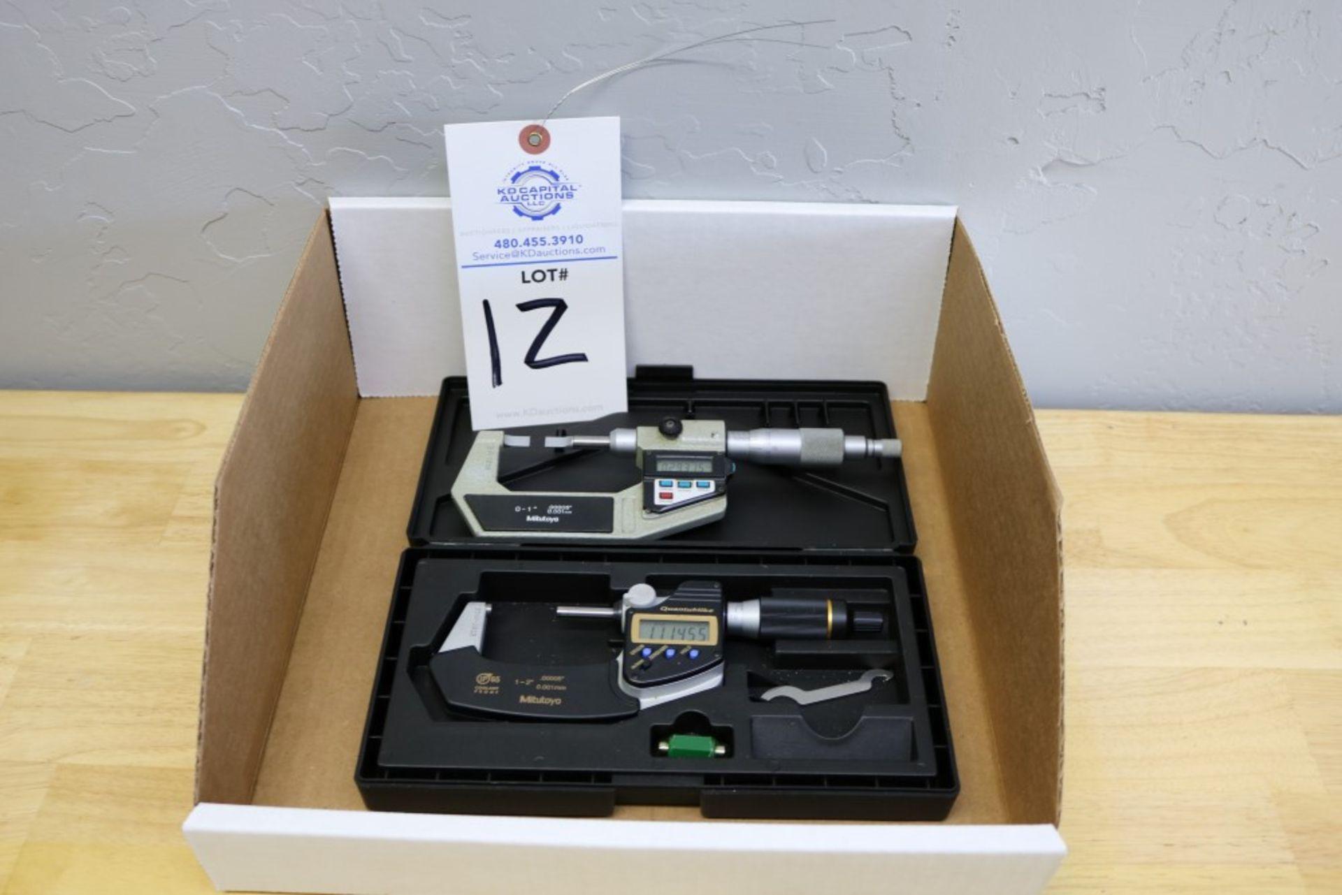"""Lot 12 - Mitutoyo Quantumike 1-2"""" Digital OD Micrometer"""