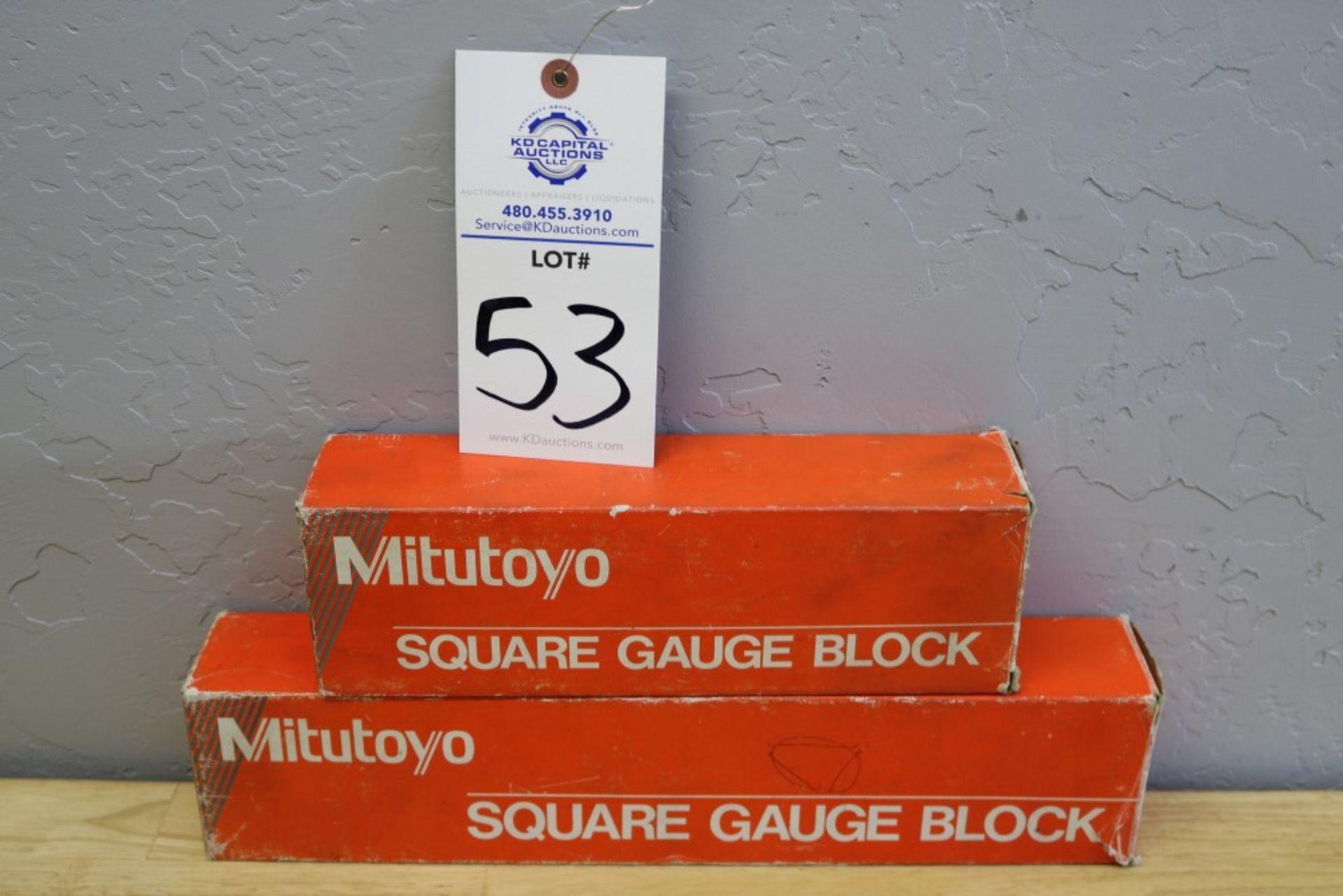 "Lot 53 - Mitutoyo Square Gauge Block 6"" - 12"""