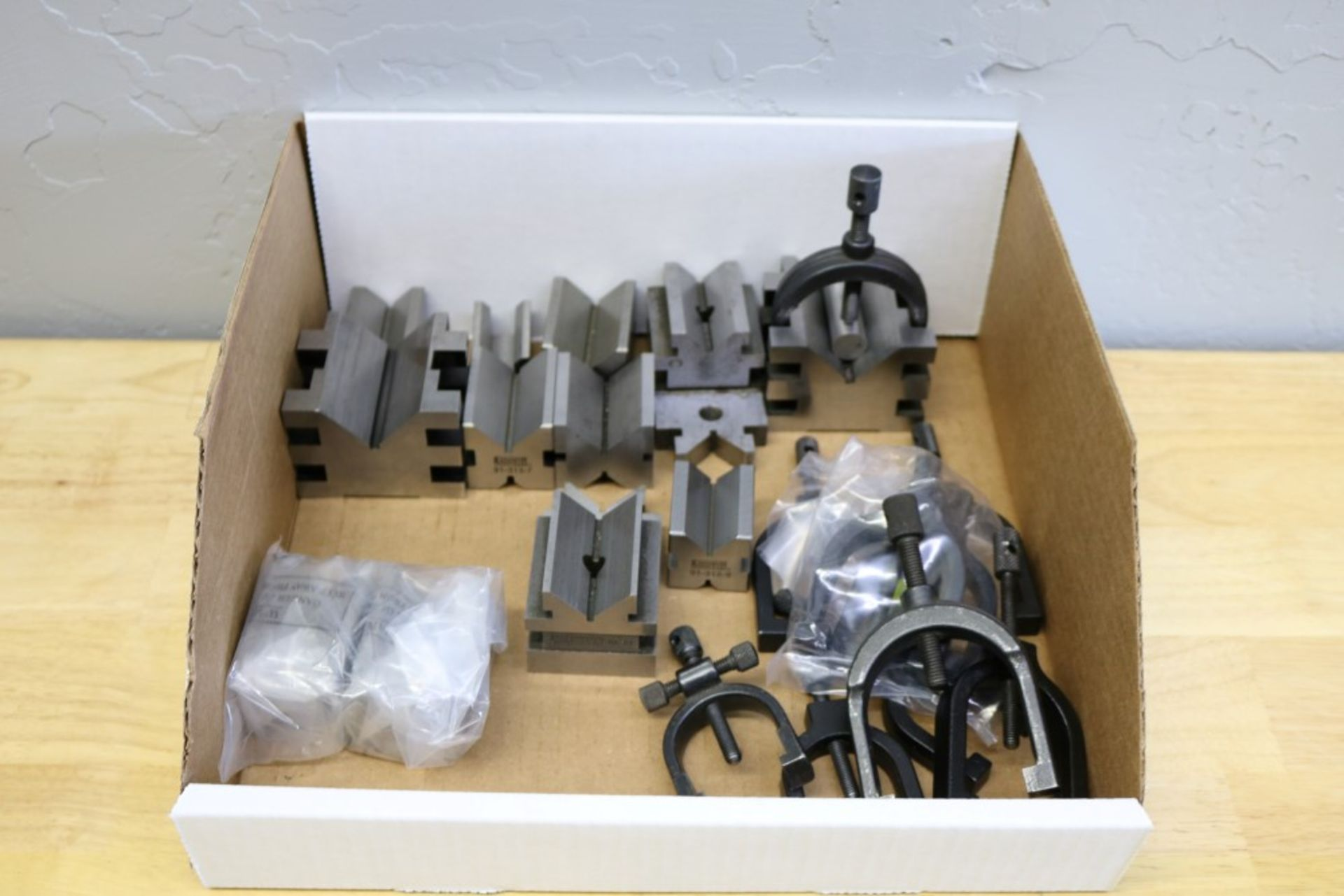 Lot 40 - Various V Blocks and V Block Clamps NEW and Used