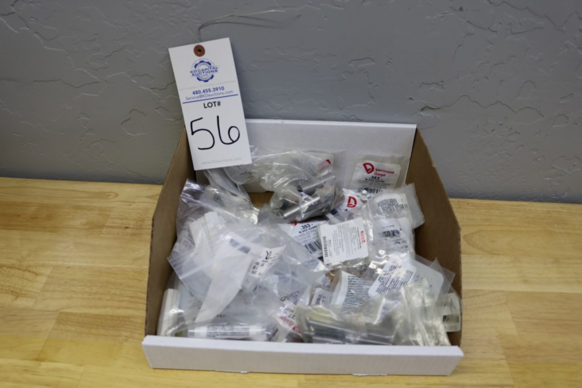 Lot 56 - Box of Various Bagged Gage Pins