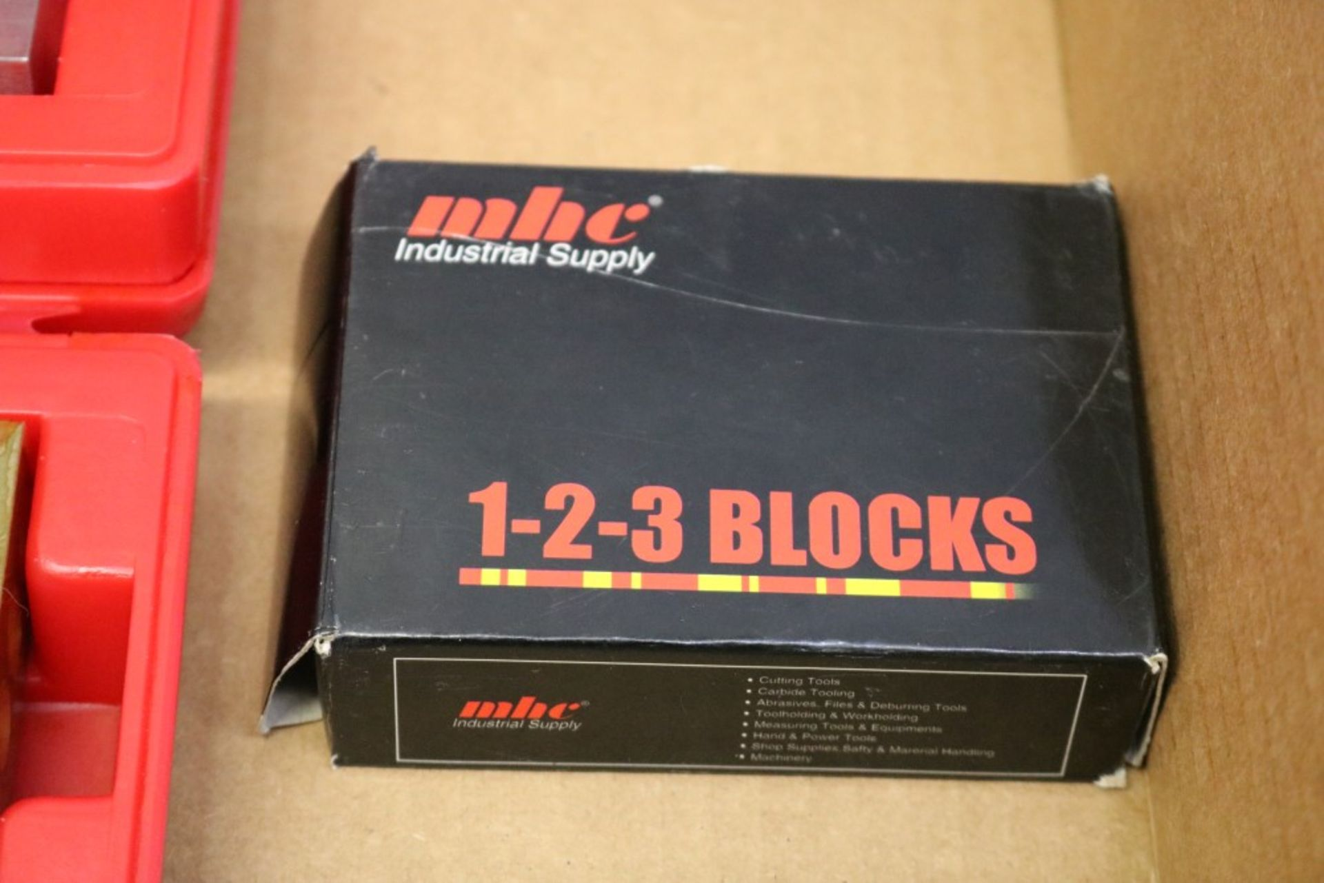 Lot 39 - NEW SPI 123 Block Solid and Threaded and NEW MHC 123 Blocks Threaded