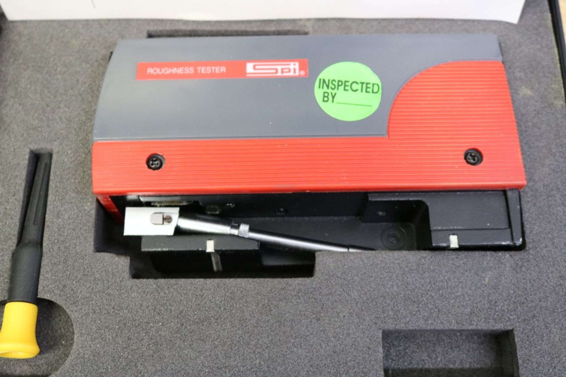 """Lot 24 - SPI Portable Roughness Tester with Two .0004"""" Small Bore Probe"""
