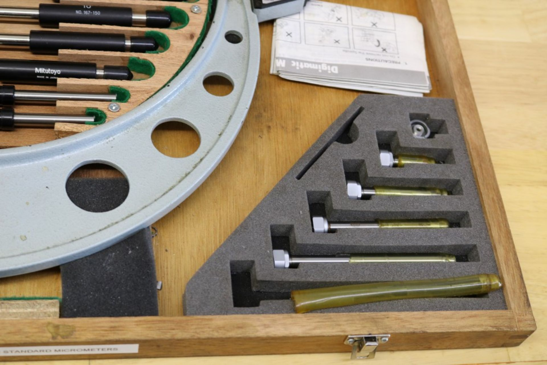"Lot 13 - Mitutoyo 6-12"" Digital OD Micrometer"