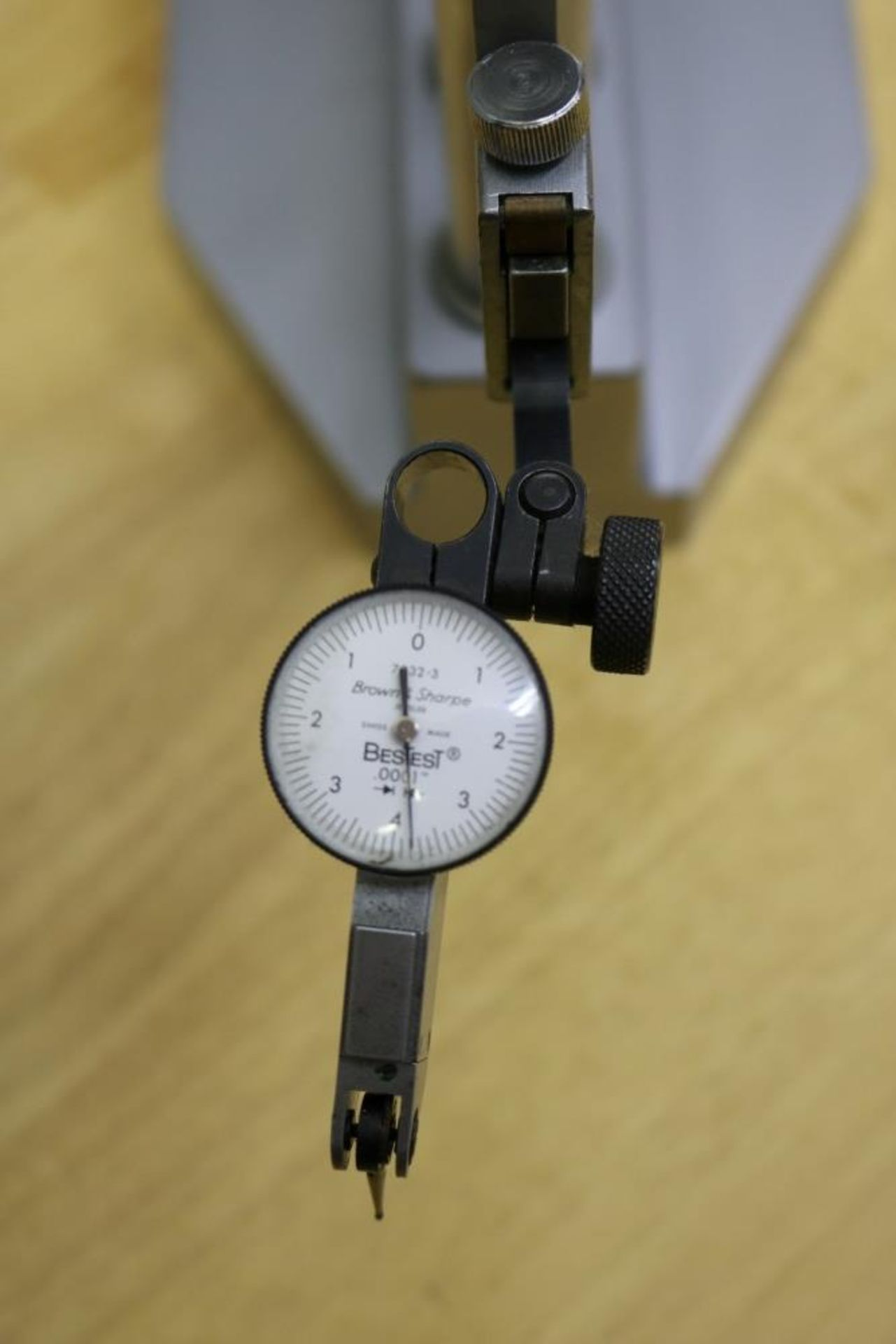 "Lot 26 - Mitutoyo Height Gage .001-18"" with Borwn & Sharpe Dial Indicator"