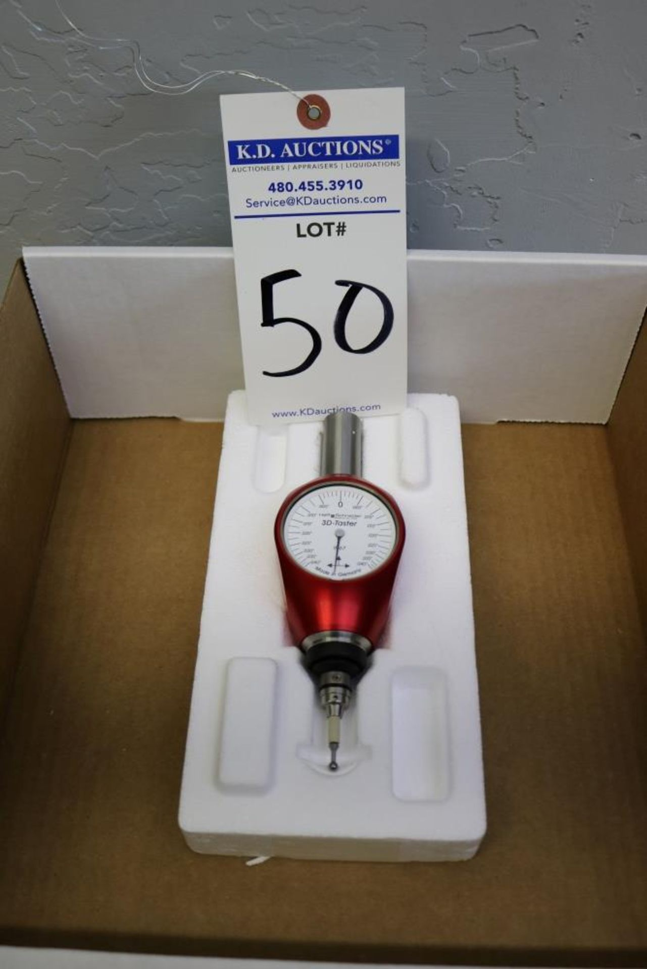 Lot 50 - Haff Schneider Touch Probe
