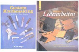 Konvolut von 2 Büchern, Messer / Holster selber machen<