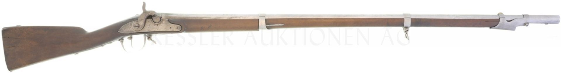 Perkussionsgewehr, Infanterie, St.Etienne, 1777/1840, Kal. 17.6mm