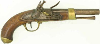Steinschlosspistole, F-Ord. AN XIII, Kal. 17.6mm