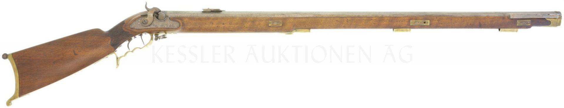 Perkussionsstutzer 1838, Aargau, Kal. 16mm