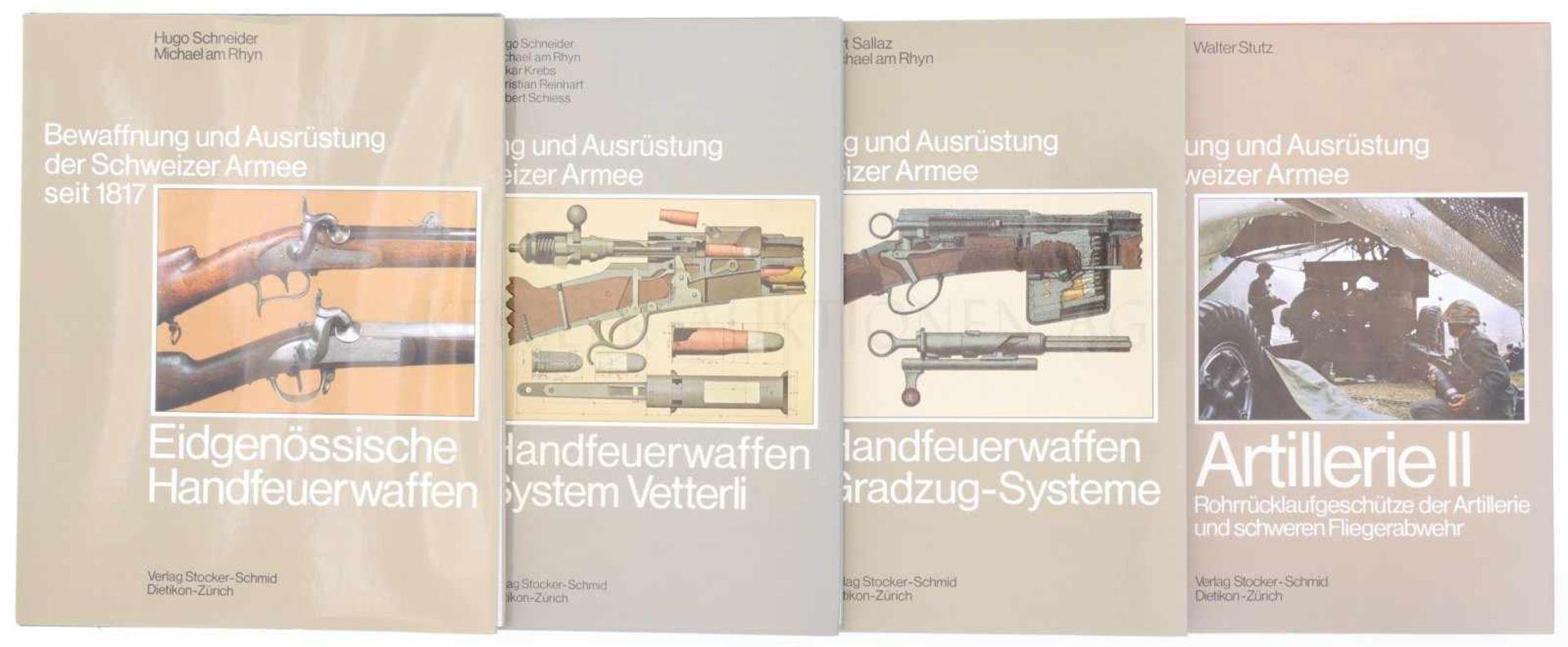 Konvolut von 4 Bänden<