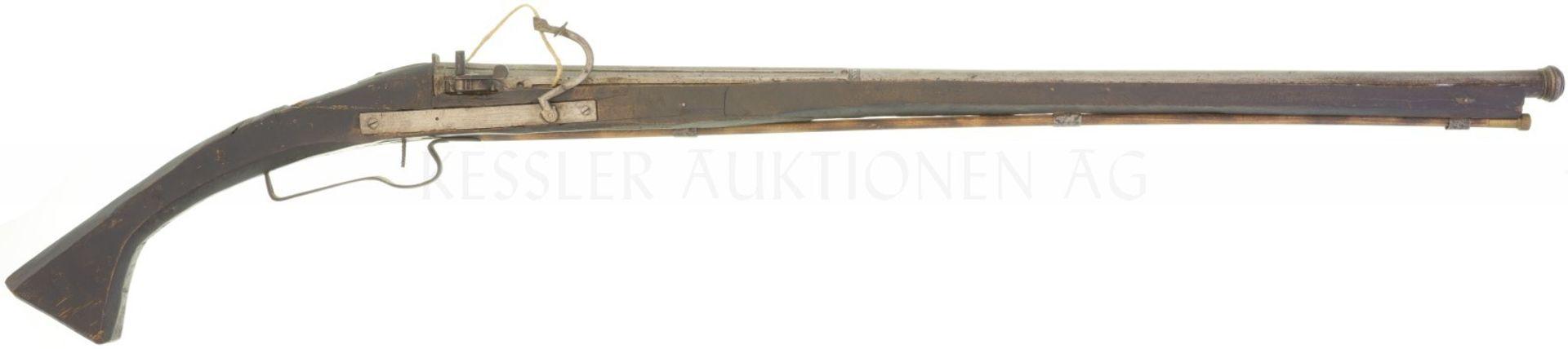 Luntenschlossgewehr, indisch, Kal. 18mm