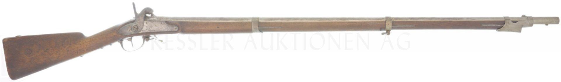 Perkussionsgewehr, franz. Infanterie Mle. 1822/40, Kal. 17.6mm