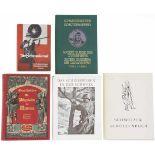 Konvolut von 5 Büchern zum Schweizer Schiesswesen<