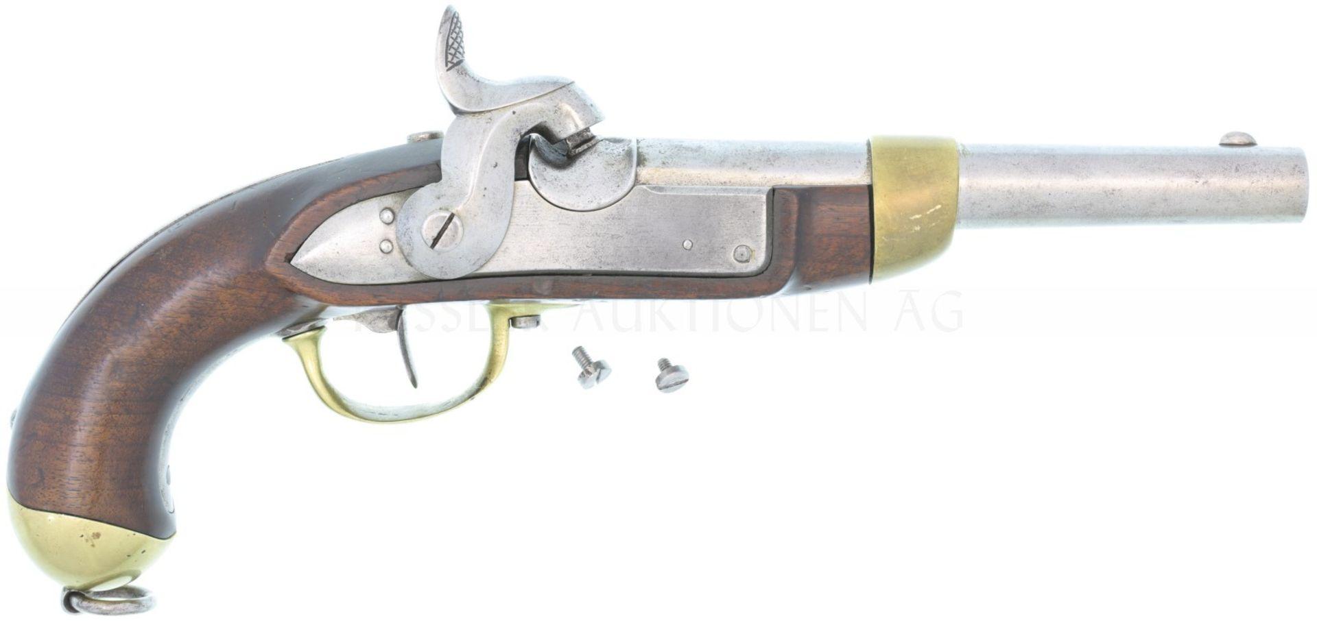 Perkussionspistole, Eidg. Ord. 1842, Kal. 17.6mm