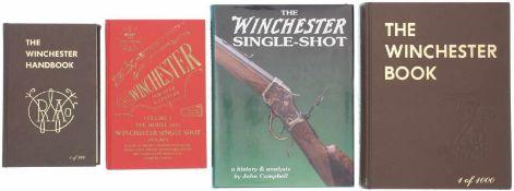 Konvolut 4 Winchester Bücher<