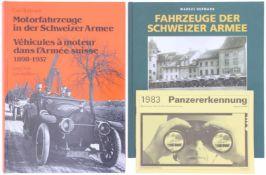 Konv. 3 Bücher Fahrzeuge/Panz