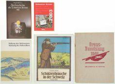 Konv 5 Bücher CH-Armee