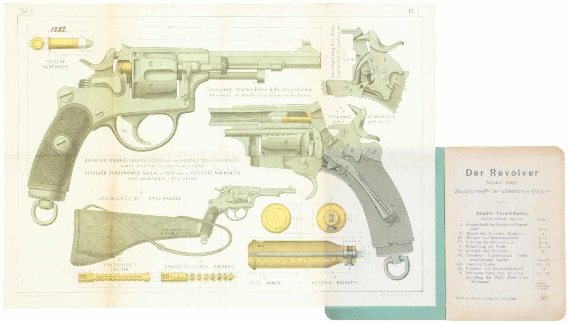 Reglement Revolver 1882