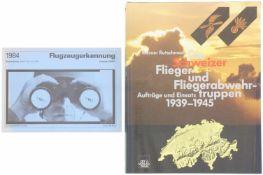 Konv. 2 Bücher Flugzeuge CH