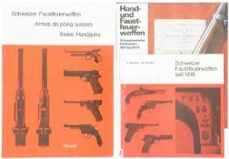 Konv. 3 Bücher CH F- u. HFW
