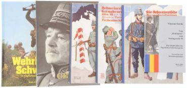 Konv. 6 Bücher