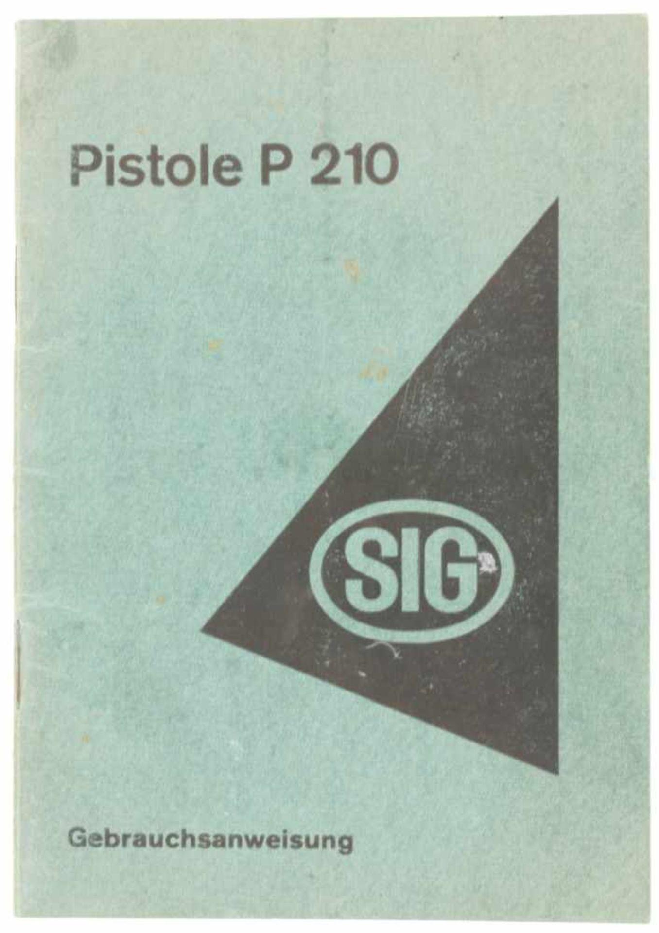 Anleitung SIG P210