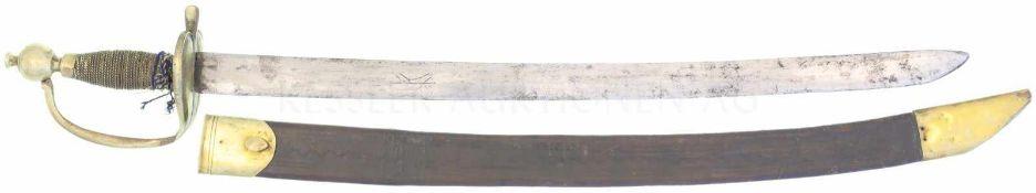 Infanteriesäbel ZH um 1770