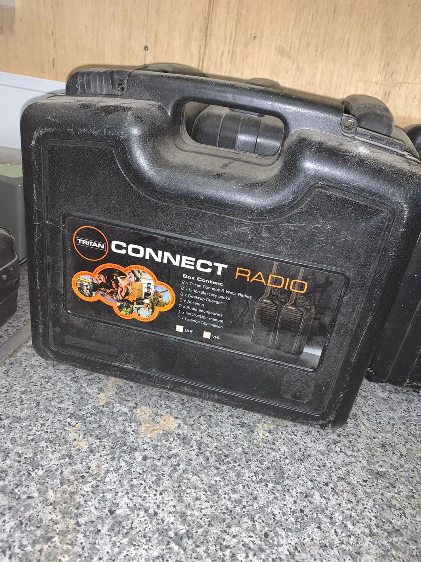 Los 99D - Tritan Connect UHF 2 Way Radio Set