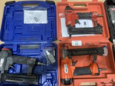 Tacwise C1832V, CMB35PHH air staplers and 1 other