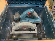 Cased Bosch GKS18 V-L1 Professional - no batteries