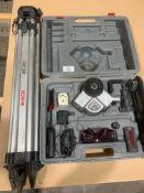 Cased Bosch BL100 VHR Laser & BS200 Tripod