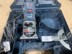 Cased Bosch Professional GKF600 Trimmer