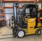 Yale Model GNP25VX Gas Fork Lift Truck 3,408 hrs use spec details as per plate photo
