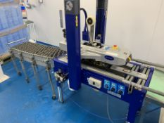 Optimax Siat sealer with Concertina conveyor