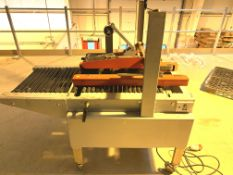 DNC D15NC semiautomatic carton sealer for self adhesive tape