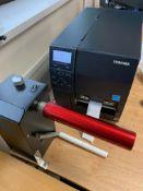 Toshiba Barcode Printer B-EX4