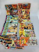 Sammlung Comichefte / Piccolos, 2.H.20.Jh., 3x Silberpfeil, 1x Testpilot Speedy, 2x Nick,