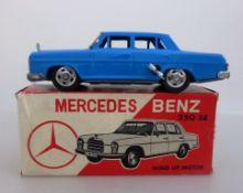 Blechspielzeug, Mercedes Benz 250 SE, Federwerk, No. 10003, Made in Japan, l. 18cm,