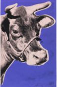 Andy Warhol 1928 Pittsburgh - 1987 New York Cow. 1976. Farbserigrafie. Feldman/Schellmann/Defendi